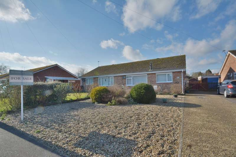 3 Bedrooms Semi Detached Bungalow for sale in Gothic Close, Harleston