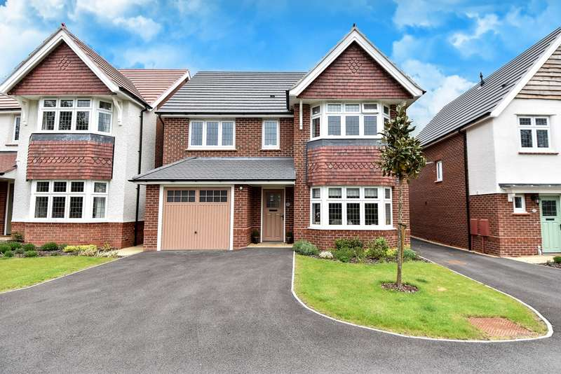 4 Bedrooms Detached House for sale in Rutherford Road, Bromsgrove, B60