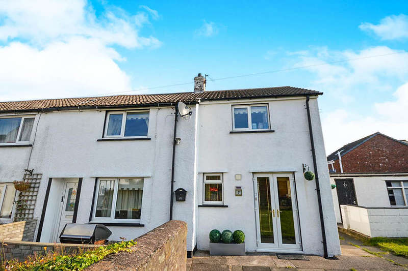 4 Bedrooms Semi Detached House for rent in Hall Garth, Great Clifton, Workington, CA14