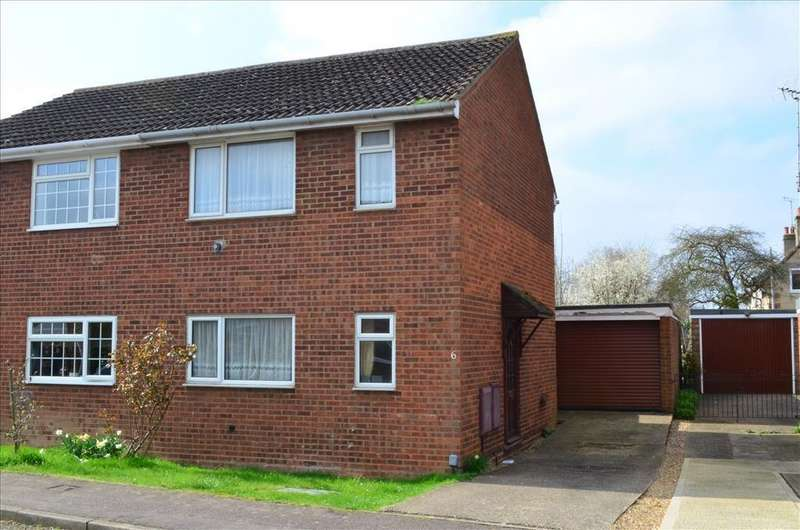 3 Bedrooms Semi Detached House for rent in Russet Way, MELBOURN, SG8