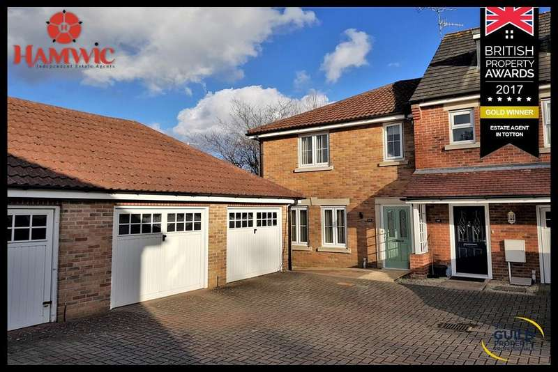 3 Bedrooms End Of Terrace House for sale in St Contest Way, Marchwood, Southampton SO40