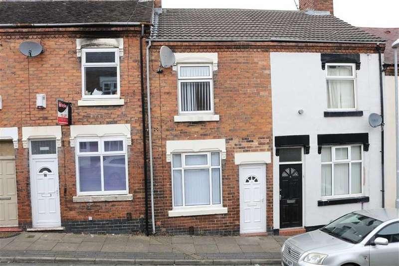 2 Bedrooms Terraced House for sale in Moore Street, Burslem, Stoke-on-Trent