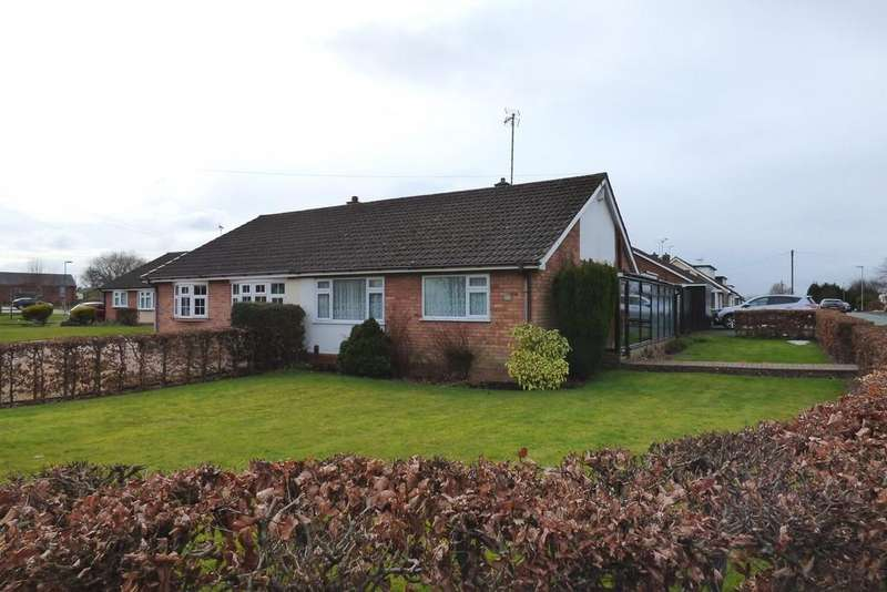 2 Bedrooms Semi Detached Bungalow for sale in Greenfields, Hixon, Stafford