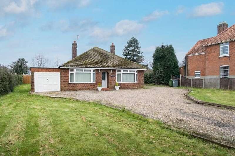 3 Bedrooms Detached Bungalow for rent in Chapelfield Road, Freethorpe, Norwich