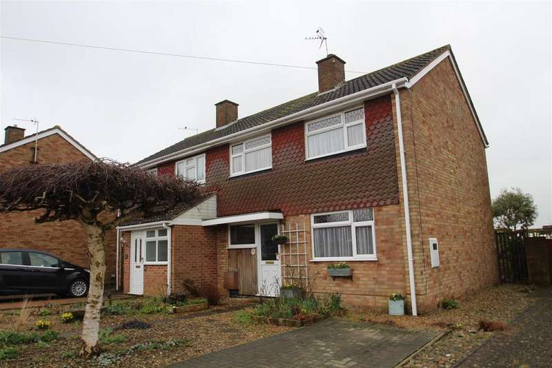 3 Bedrooms Semi Detached House for sale in Williams Close, Hanslope, Milton Keynes