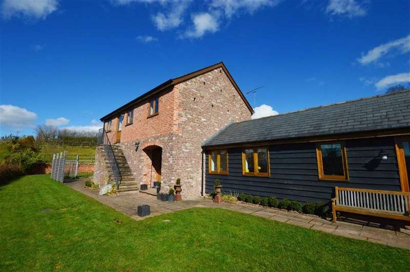 4 Bedrooms Detached House for sale in Cider Mill House, Widgeon Hill, Hamnish, Herefordshire, HR6
