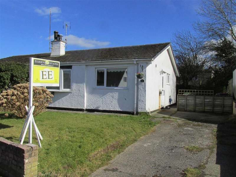 2 Bedrooms Semi Detached Bungalow for sale in Nant Y Felin, Pentraeth, Anglesey