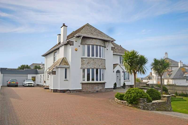5 Bedrooms Detached House for sale in Pentire, Newquay, Cornwall , TR7