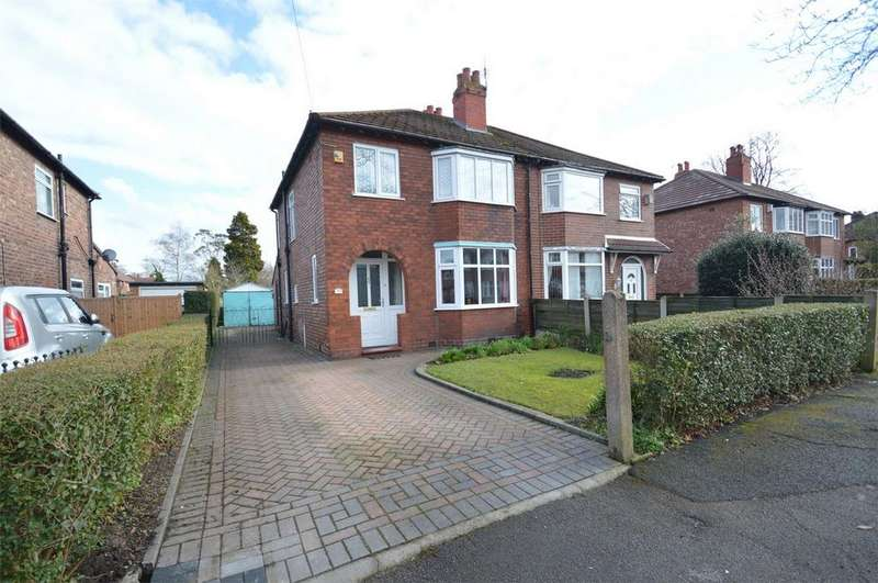 3 Bedrooms Semi Detached House for sale in Leith Road, SALE, Cheshire