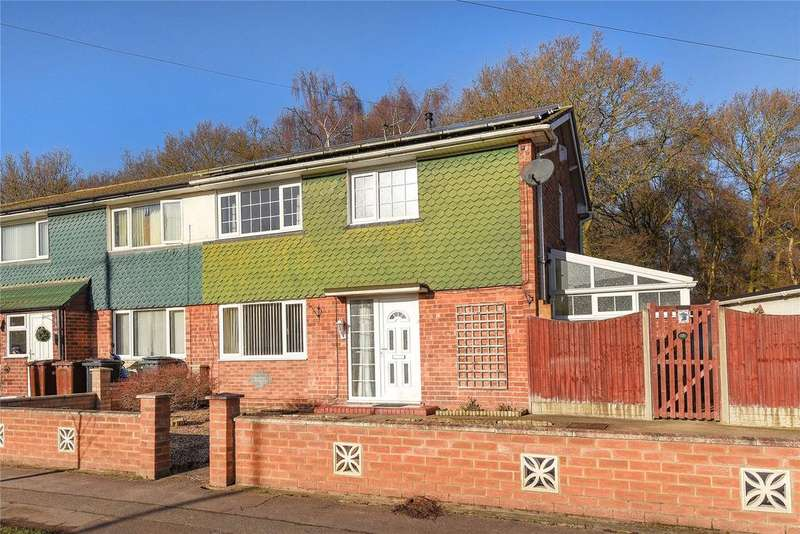 3 Bedrooms Semi Detached House for sale in Camwood Crescent, Lincoln, LN6