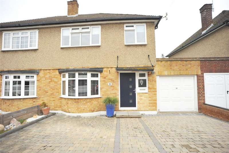 3 Bedrooms Semi Detached House for sale in Lindsey Close, Brentwood, Essex, CM14