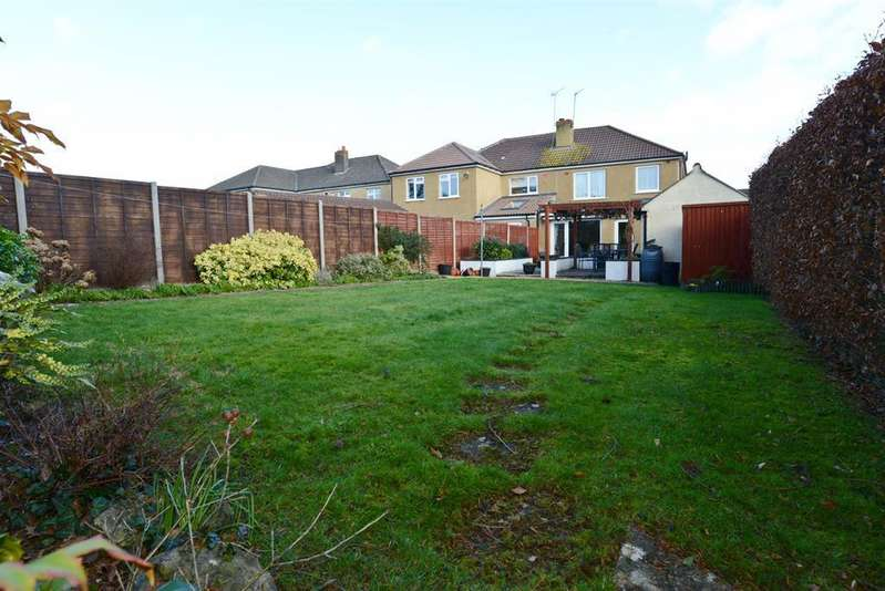 3 Bedrooms Semi Detached House for sale in Barrs Court Avenue, Barrs Court, Bristol, BS30 8DL