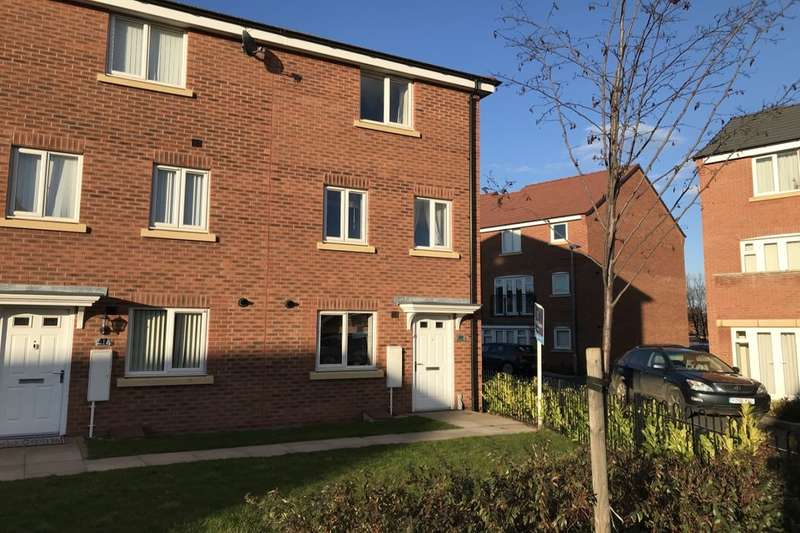 4 Bedrooms Terraced House for sale in Anglian Way, Stoke Village, Coventry, CV3