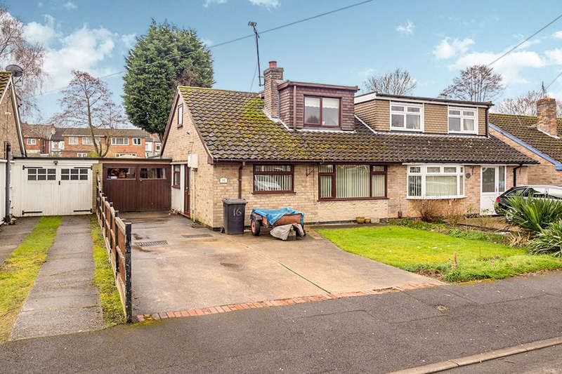 2 Bedrooms Semi Detached Bungalow for sale in Robey Drive, Eastwood, NOTTINGHAM, NG16
