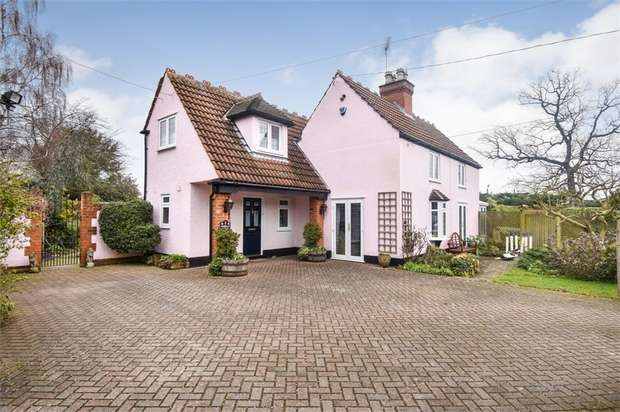 4 Bedrooms Detached House for sale in Ashwells Road, Pilgrims Hatch, Brentwood, Essex