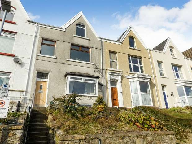 1 Bedroom Maisonette Flat for sale in Brooklands Terrace, Swansea, West Glamorgan