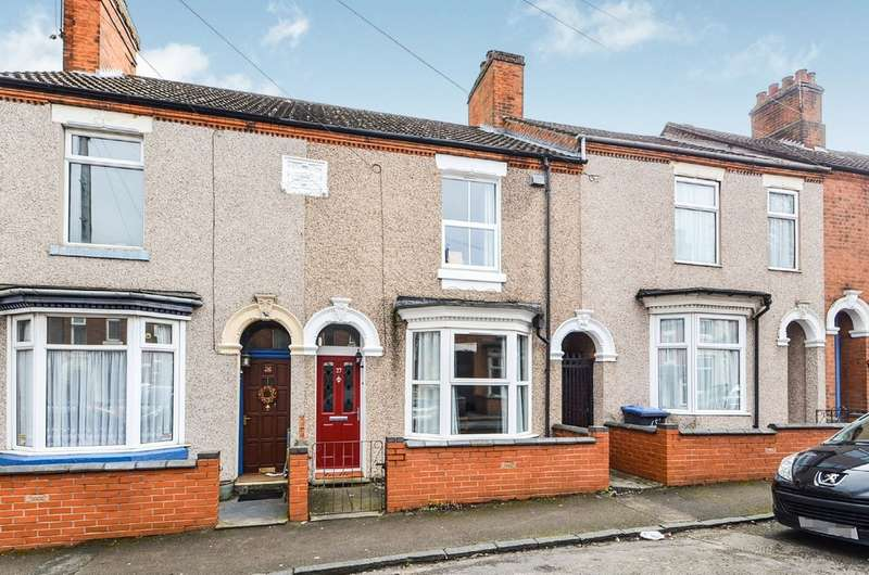 2 Bedrooms Terraced House for sale in Corbett Street, Rugby