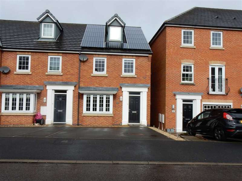 3 Bedrooms Mews House for sale in Peartree Crescent, Newton Le Willows