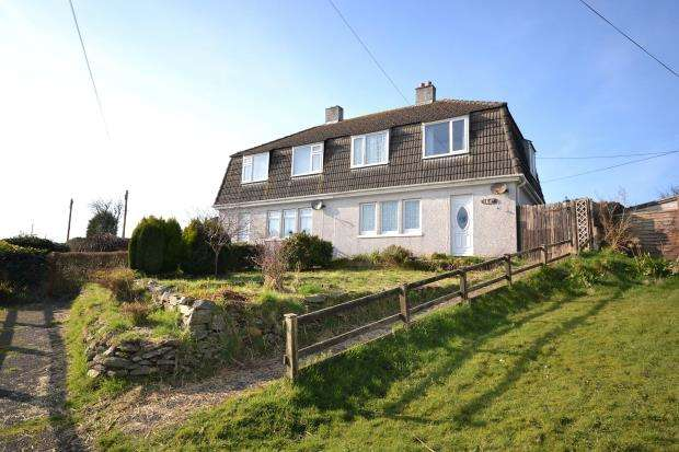 3 Bedrooms Semi Detached House for sale in Wilton Terrace, Pelynt, Looe, Cornwall