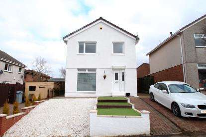 3 Bedrooms Detached House for sale in Moffat Gardens, Gardenhall