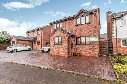 4 Bedrooms Detached House for sale in Primrose Crescent, St. Peters, Worcester, Worcestershire