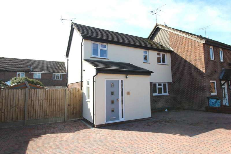 3 Bedrooms End Of Terrace House for sale in Wagtail Drive, Heybridge