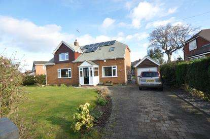 4 Bedrooms Detached House for sale in Sandy Lane, Irby, Wirral, CH61