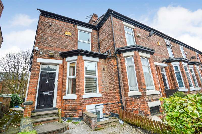 6 Bedrooms End Of Terrace House for sale in Davenport Avenue, Manchester