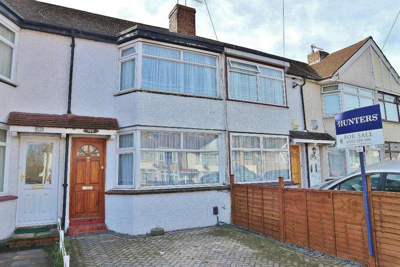 2 Bedrooms Terraced House for sale in Parkside Avenue, Barnehurst, Kent, DA7 6NU