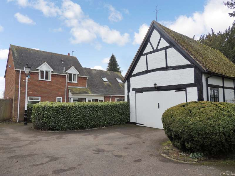 4 Bedrooms Detached House for sale in Kenilworth Road, Knowle, Solihull, B93 0JD
