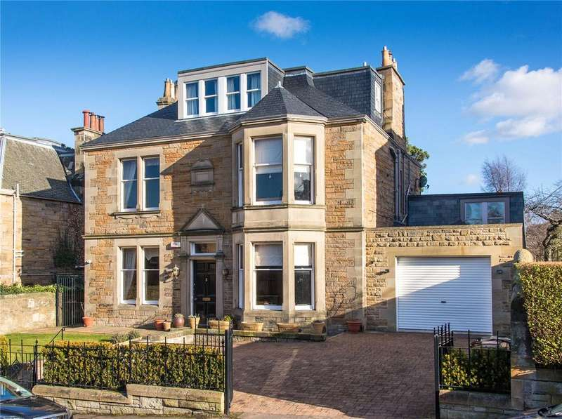6 Bedrooms Detached House for sale in 3 Hermitage Gardens, Morningside, Edinburgh, EH10