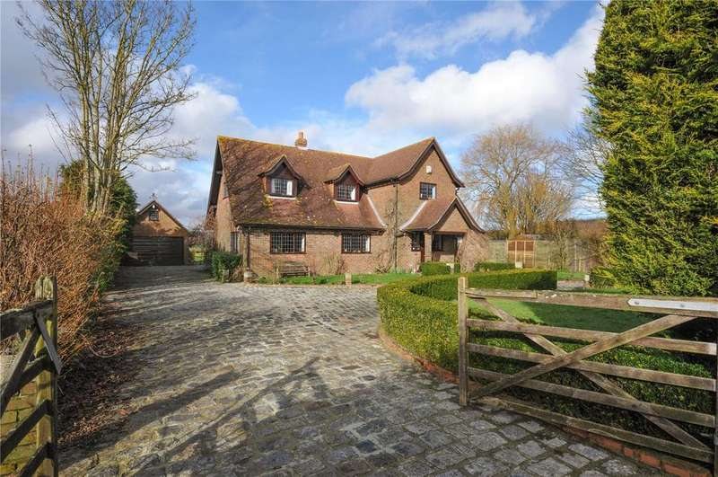 4 Bedrooms Detached House for sale in The Street, Brook, Ashford, Kent