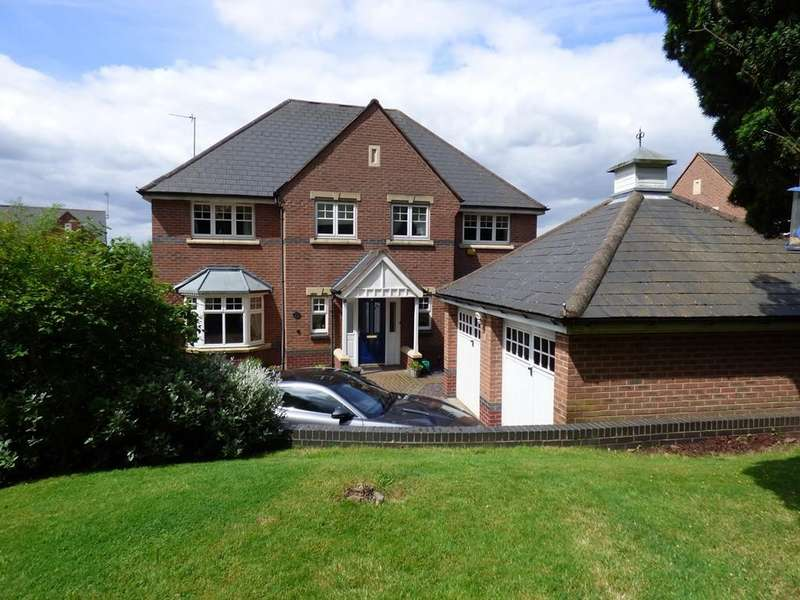 5 Bedrooms Detached House for sale in Nightingale Walk, Burntwood