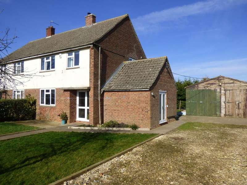 3 Bedrooms Semi Detached House for sale in Crowtree Cottages, Spalding Marsh