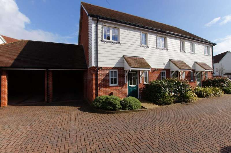 2 Bedrooms End Of Terrace House for sale in Westhampnett, Chichester