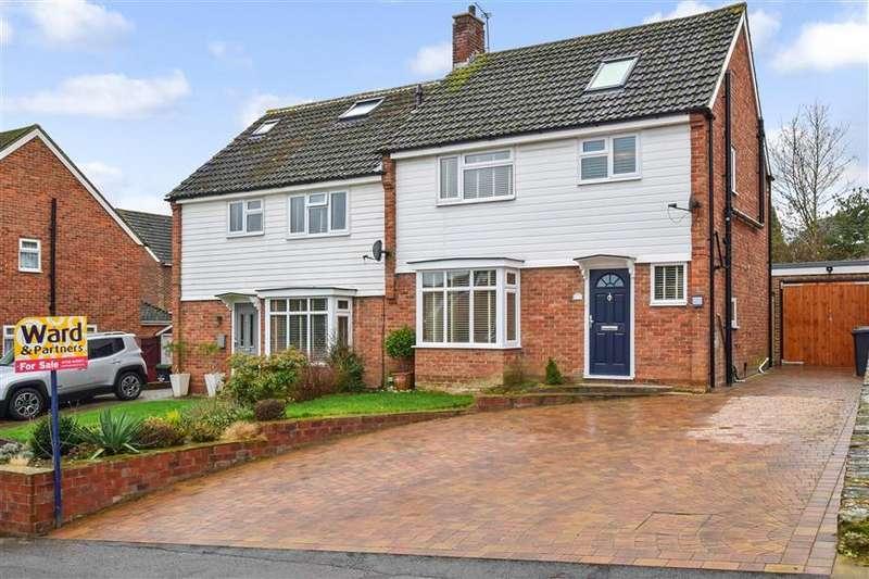 4 Bedrooms Semi Detached House for sale in Chestnut Walk, Larkfield, Aylesford, Kent