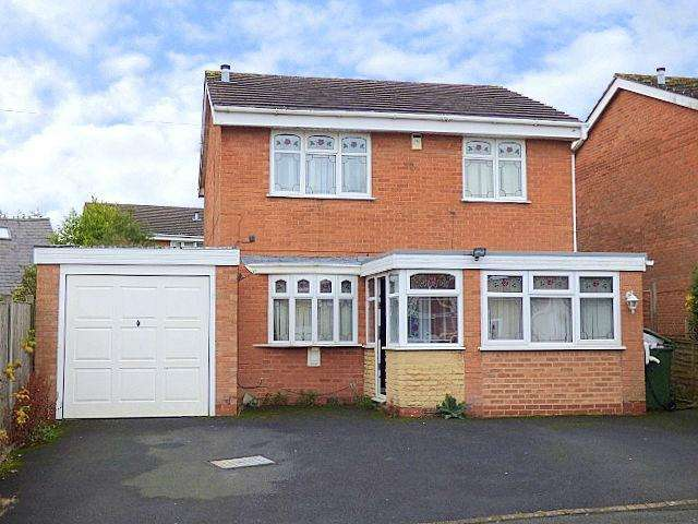 4 Bedrooms Detached House for sale in Holmes Drive, Rubery, Birmingham B45