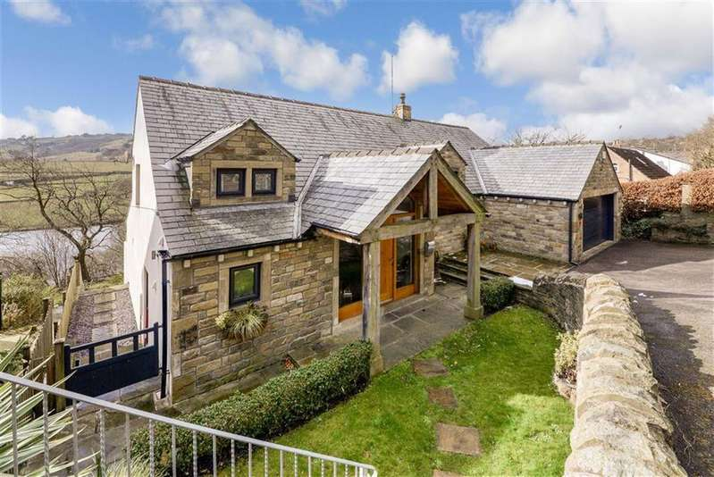 4 Bedrooms Detached House for sale in Lamb Hall Road, Longwood, Huddersfield, HD3
