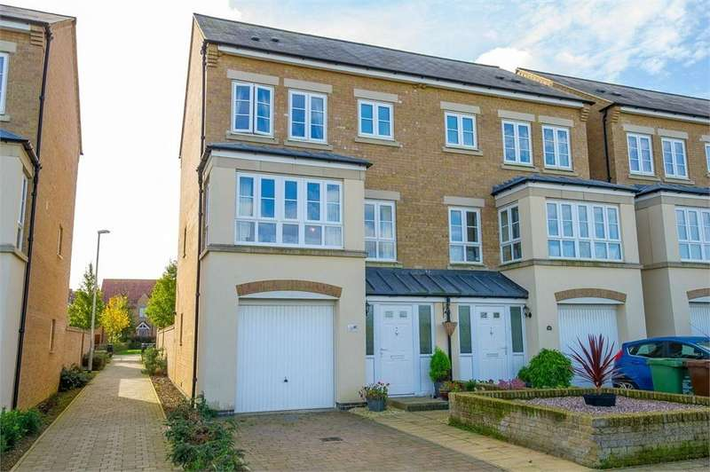 4 Bedrooms Semi Detached House for sale in Park View, Priors Hall, Northamptonshire
