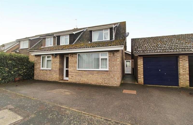 3 Bedrooms Semi Detached House for sale in Heath Close, Hessett, Bury St. Edmunds