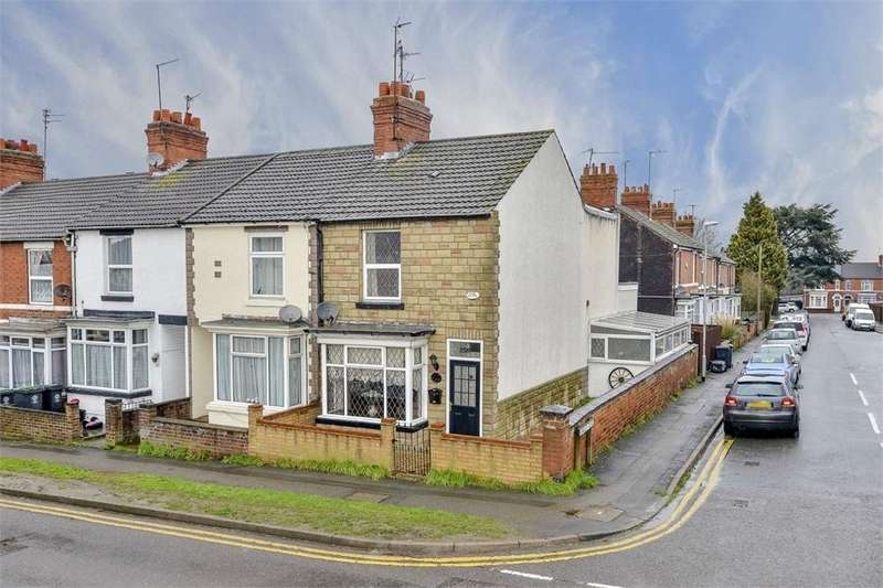 2 Bedrooms End Of Terrace House for sale in Wellingborough Road, Rushden, Northamptonshire