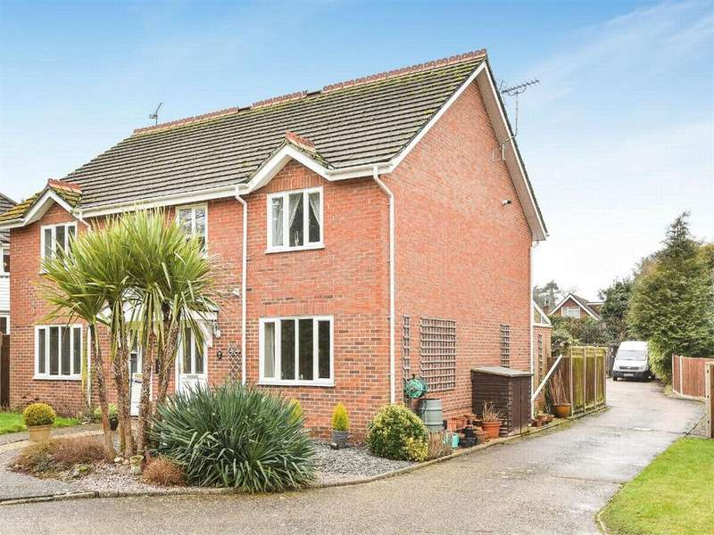 3 Bedrooms Semi Detached House for sale in Thornfield Green, Hawley, Hampshire