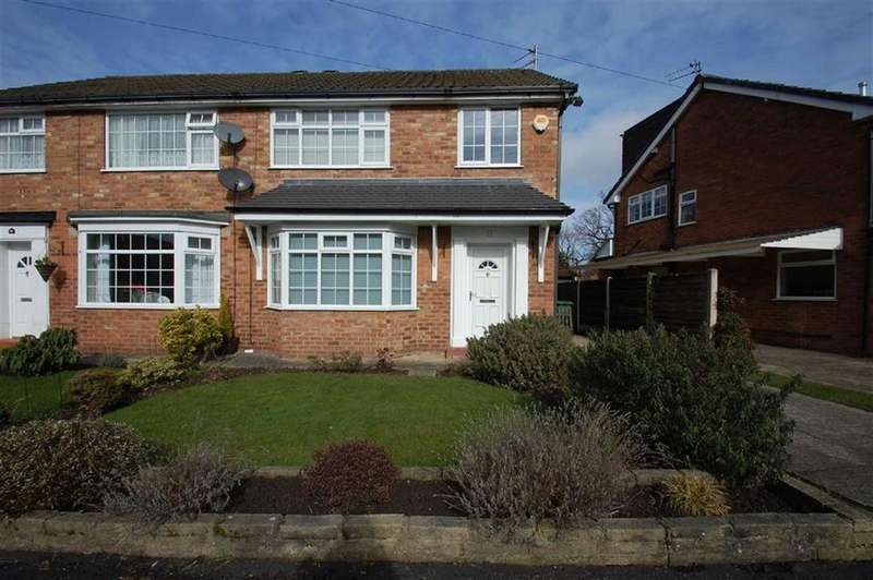 3 Bedrooms Semi Detached House for sale in Fountains Road, Bramhall, Cheshire