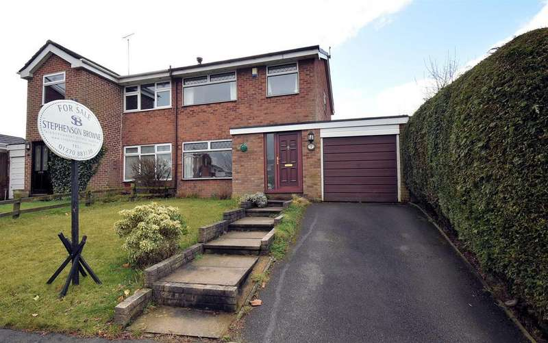 3 Bedrooms Semi Detached House for sale in Fairfields, Bignall End