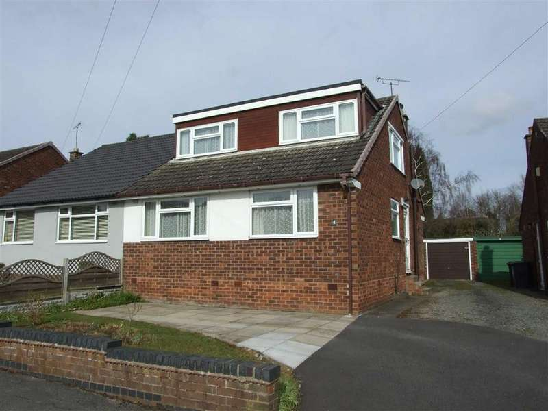3 Bedrooms Semi Detached Bungalow for sale in Woodford Close, Coventry