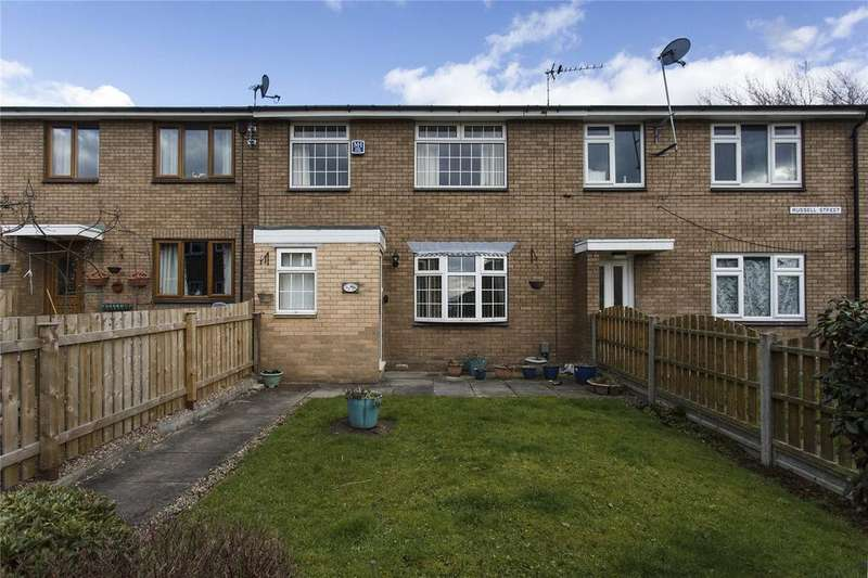 3 Bedrooms Terraced House for sale in Russell Street, Dewsbury, West Yorkshire, WF13