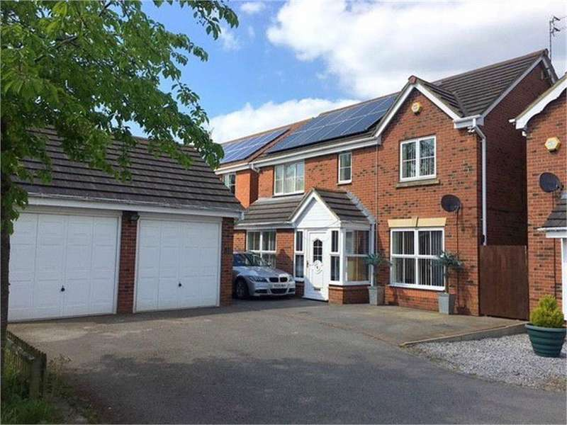 4 Bedrooms Detached House for sale in Buttercup Close, Oakley Vale, Corby, Northamptonshire
