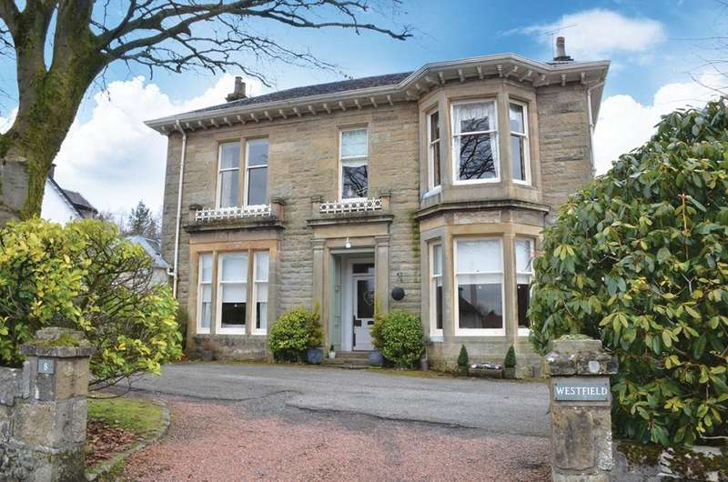 4 Bedrooms Ground Flat for sale in Westfield 8 Donaldfield Road, Bridge of Weir, PA11 3JJ