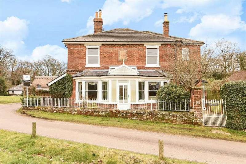 5 Bedrooms Detached House for sale in Otterbourne, Winchester, Hampshire