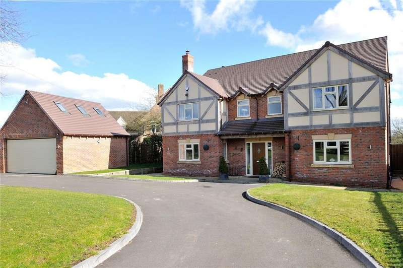 5 Bedrooms Detached House for sale in Mappleborough Green, Studley, Warwickshire
